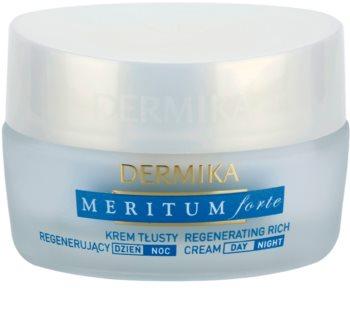 Dermika Meritum Forte crème régénérante pour peaux sèches