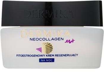 Dermika Neocollagen M+ creme regenerador de noite com fitoestrógenos
