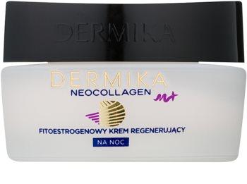 Dermika Neocollagen M+ regenererende nachtcrème met fyto-oestrogenen