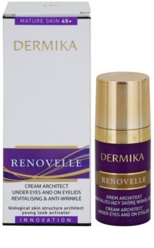 Dermika Renovelle 45+ revitalizační oční krém proti vráskám a tmavým kruhům