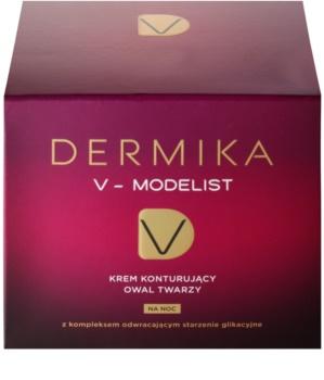Dermika V-Modelist éjszakai átformáló krém 60+