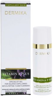 Dermika Vitamina P Plus sérum em gel para veias dilatadas