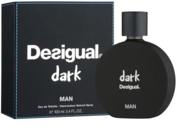 Desigual Dark Eau de Toilette para homens 100 ml