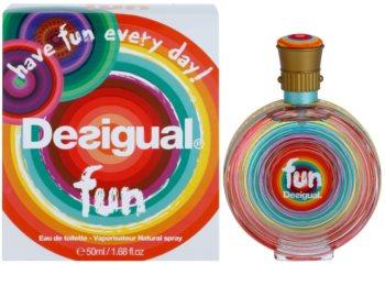 Desigual Fun Eau de Toilette für Damen 50 ml