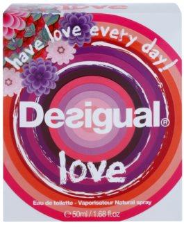 Desigual Love Eau de Toilette voor Vrouwen  50 ml