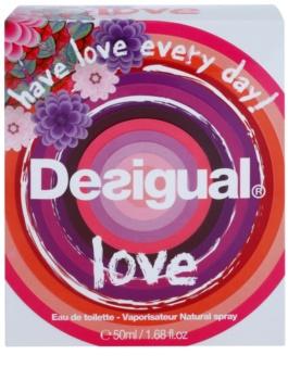 Desigual Love woda toaletowa dla kobiet 50 ml