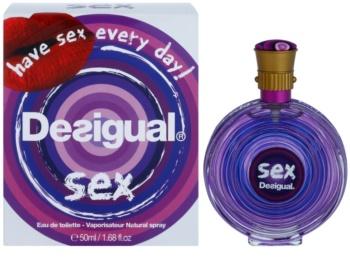 Desigual Sex Eau de Toilette para mulheres 50 ml