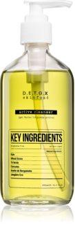 Detox Skinfood Key Ingredients gel de curatare facial