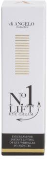 Di Angelo Cosmetics No1 Lift oční krém pro okamžité vyhlazení vrásek
