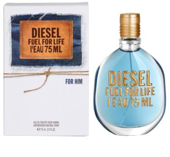 diesel fuel for life l 39 eau eau de toilette pour homme 75. Black Bedroom Furniture Sets. Home Design Ideas