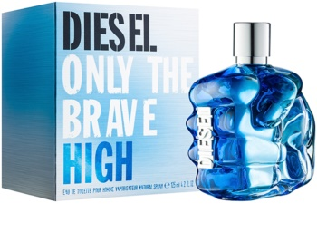 Diesel Only The Brave High Eau de Toilette para homens 125 ml