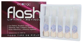 Diet Esthetic Flash ser cu efect lifting pentru toate tipurile de ten