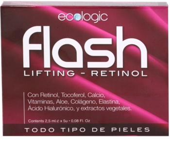 Diet Esthetic Flash liftingové vypínacie sérum pre všetky typy pleti