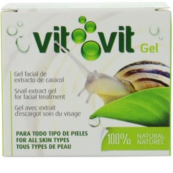 Diet Esthetic Vit Vit gel pentru fata cu extract de melc