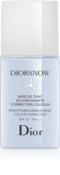 Dior Diorsnow bază de machiaj iluminatoare SPF 35