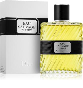 Dior Eau Sauvage Parfum eau de parfum férfiaknak 100 ml