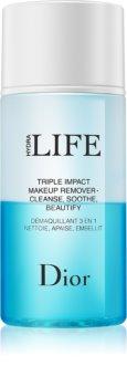 Dior Hydra Life Triple Impact Makeup Remover odličovací emulze bez obsahu oleje