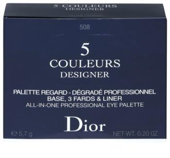 Dior 5 Couleurs Designer professzionális szemhéjfesték paletta