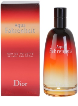 Dior Fahrenheit Aqua eau de toilette per uomo 125 ml