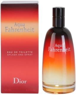 Dior Fahrenheit Aqua toaletna voda za moške 125 ml