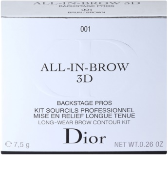 Dior All-In-Brow 3D szett a tökéletes szemöldökért