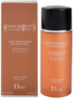 Dior Dior Bronze Auto-Bronzant Self-Tanning Oil for Face and Body