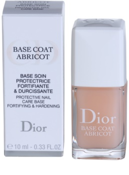 Dior Base Coat Abricot lac intaritor de baza pentru unghii