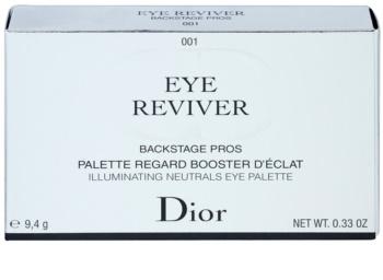 Dior Backstage paleta farduri de ochi