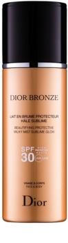 Dior Dior Bronze óleo de bronzear protetor e iluminador SPF 30