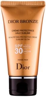 Dior Bronze λαμπρυντική προστατευτική αντηλιακή κρέμα SPF30
