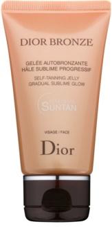 Dior Dior Bronze Zelfbruinende Gel voor het Gezicht