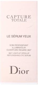 Dior Capture Totale aufhellendes Serum gegen Falten für die Augen