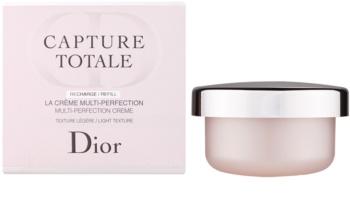 Dior Capture Totale lahka pomlajevalna krema za obraz in vrat nadomestno polnilo