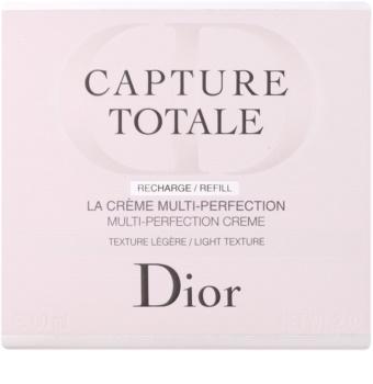 Dior Capture Totale lehký omlazující krém na obličej a krk náhradní náplň