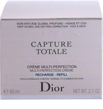 Dior Capture Totale dnevna krema proti gubam za normalno do mešano kožo nadomestno polnilo