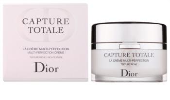 Dior Capture Totale crème nourrissante rajeunissante visage et cou