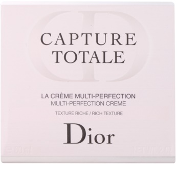 Dior Capture Totale crema rejuvenecedora nutritiva para rostro y cuello