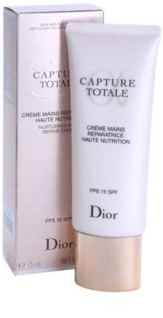 Dior Capture Totale tápláló kézkrém SPF 15