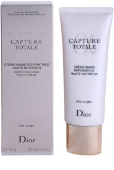 Dior Capture Totale výživný krém na ruky SPF 15