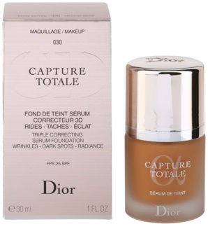 Dior Capture Totale make-up a ráncok ellen
