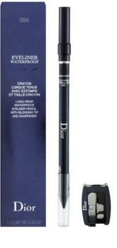 Dior Eyeliner Waterproof контурний олівець для очей  з точилкою