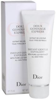 Dior Cleansers & Toners esfoliante de limpeza para todos os tipos de pele