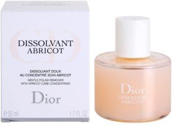 Dior Dissolvant Abricot Nail Polish Remover Without Acetone