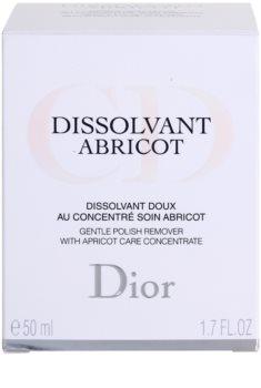 Dior Dissolvant Abricot acetona fara acetona