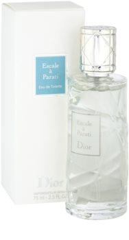 Dior Les Escales de Dior Escale a Parati toaletná voda unisex 75 ml