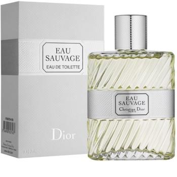 Dior Eau Sauvage toaletná voda pre mužov 100 ml bez rozprašovača