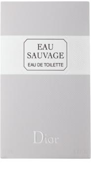 Dior Eau Sauvage toaletní voda pro muže 200 ml bez rozprašovače