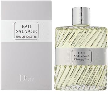Dior Eau Sauvage eau de toilette pentru barbati 200 ml fara pulverizator