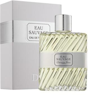 Dior Eau Sauvage toaletna voda za moške 200 ml brez razpršilnika