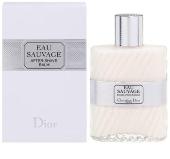 Dior Eau Sauvage Aftershave Balsem  voor Mannen 100 ml